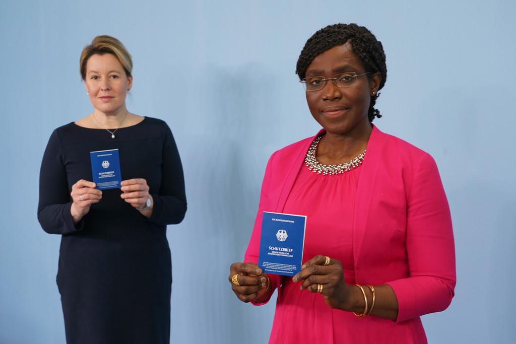 Schutzbrief gegen weibliche Genitalverstümmelung